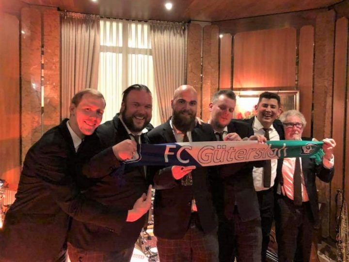 FCG unterstützt Tombola der Sazerac Swingers
