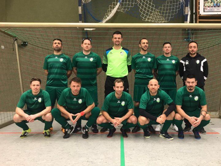 Neues Ü32-Team wird Dritter bei der Stadtmeisterschaft