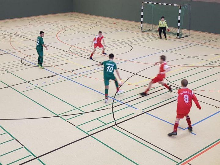 Hallen-Kreismeisterschaft: C-Junioren erreichen Endrunde