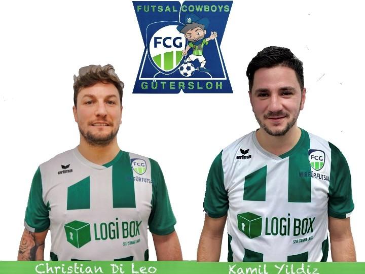 Zwei neue Cowboys für den FC Gütersloh Futsal