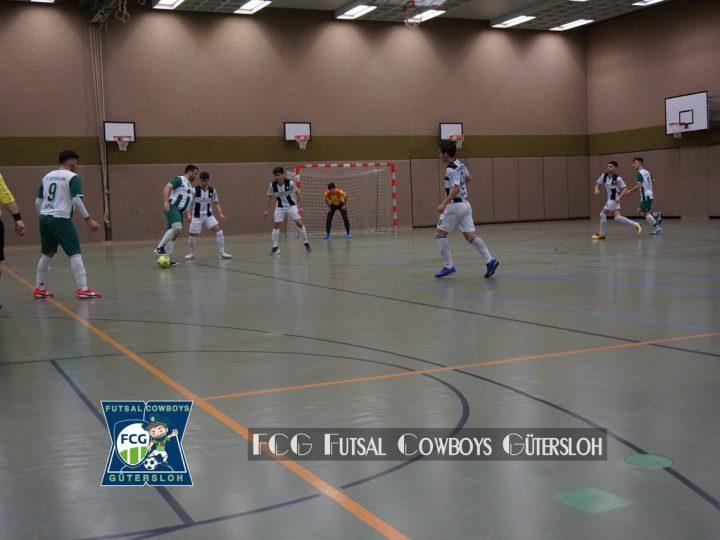 FCG Futsal Cowboys bleiben cool und siegen 9:4