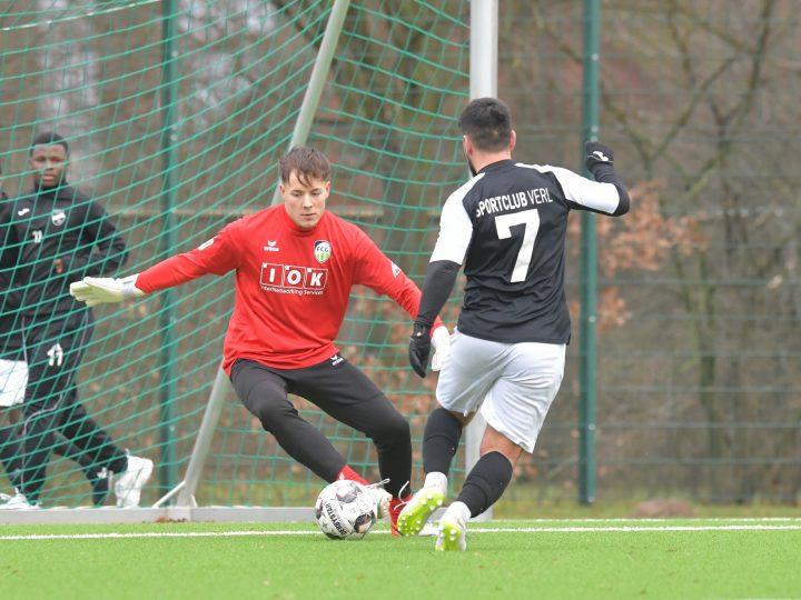 Glanzloser 3:0-Sieg gegen die U23 des SC Verl