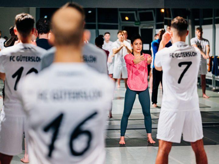 FC Gütersloh Fußball meets Yoga