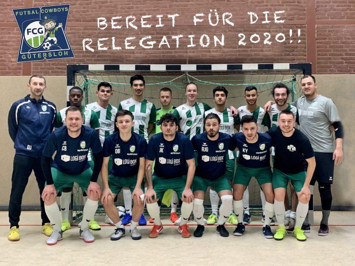 FCG Cowboys siegen im Testspiel gegen VT Futsal Rinteln