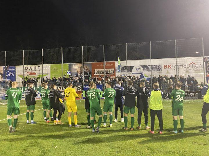 FCG verliert Nachbarschaftsduell in Wiedenbrück