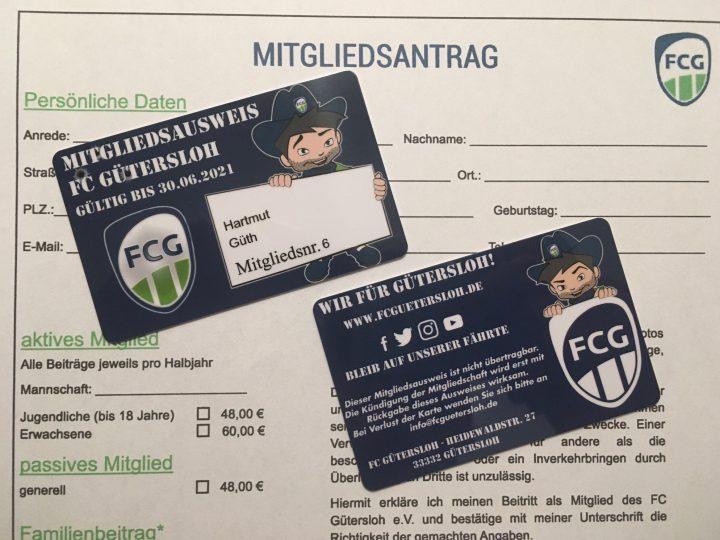 Die neuen FCG-Mitgliedsausweise sind da