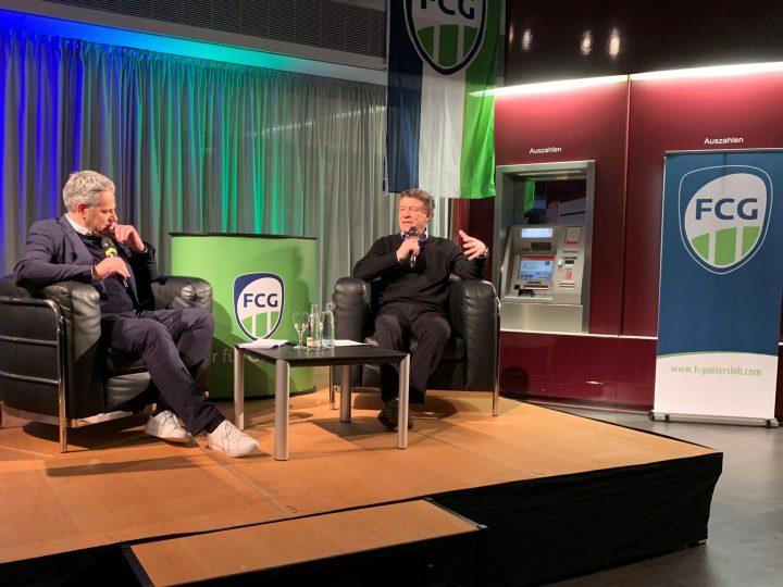 Spannender FCG-Sponsorenabend mit Otto Rehhagel