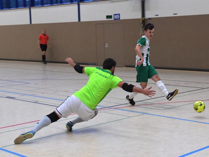 Fotoalbum zum 7:5-Sieg der FC Gütersloh Futsal Cowboys