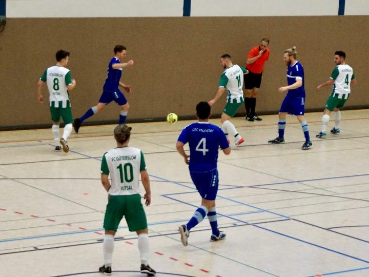 FCG Futsal Cowboys starten mit 7:5-Sieg in die Relegation