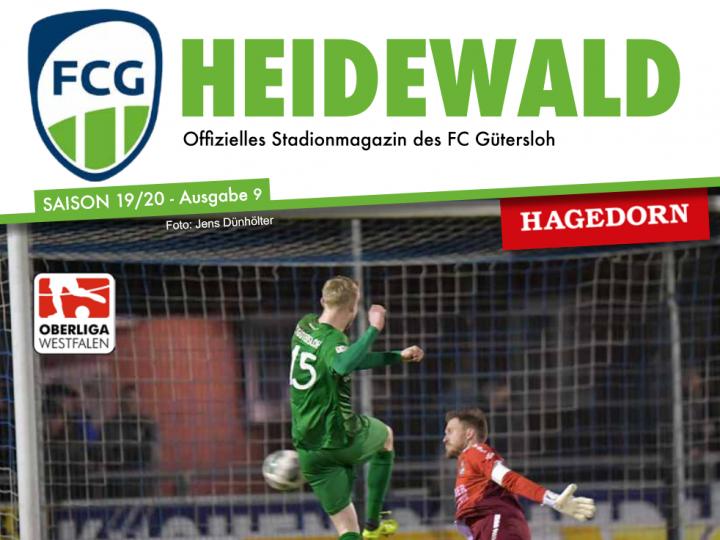 48-Seiten-Stadionmagazin für das Meinerzhagen-Spiel