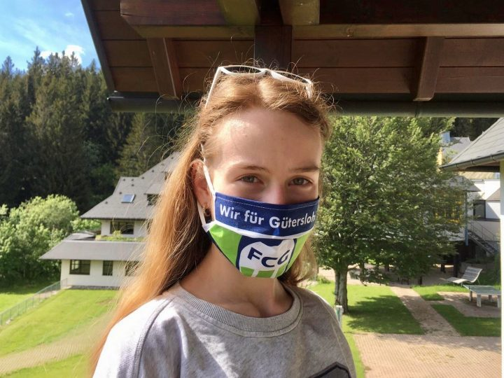 Der FC Gütersloh bekommt 200 Mundschutz-Masken gespendet