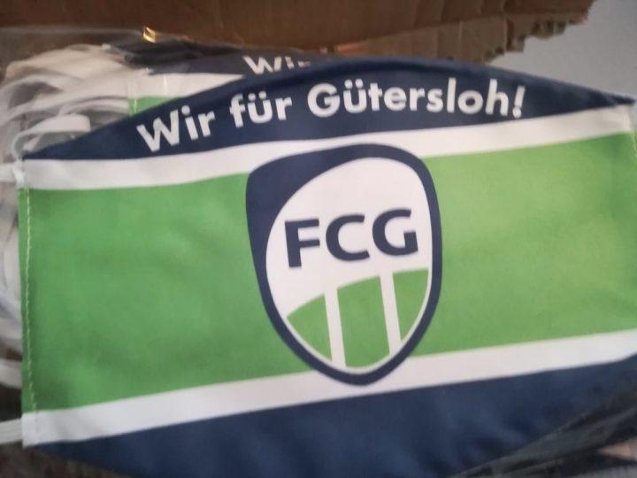 3. ManSchafft bietet FCG Mundschutz im Sonderverkauf