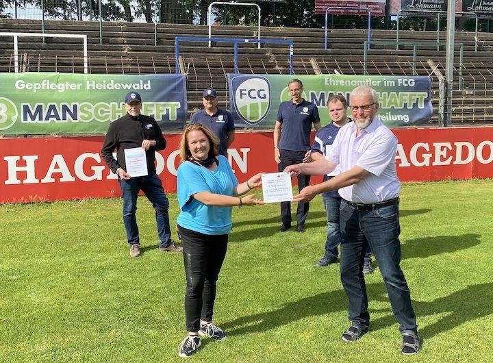 FC Gütersloh wird DRK-Sozialpartner
