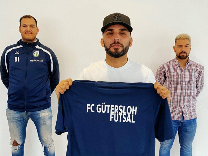 Neuzugang für die FCG-Futsaler: Ersin Gül wird ein Cowboy