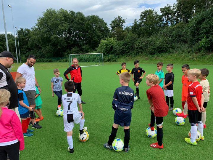F1-Junioren des FC Gütersloh starten ins Training