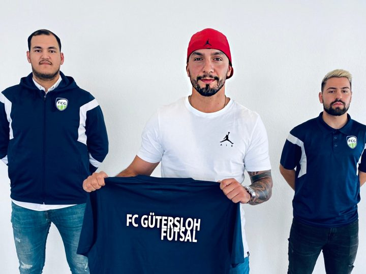 Die FC Gütersloh Futsal Cowboys schnappen sich Volkan Ünal!