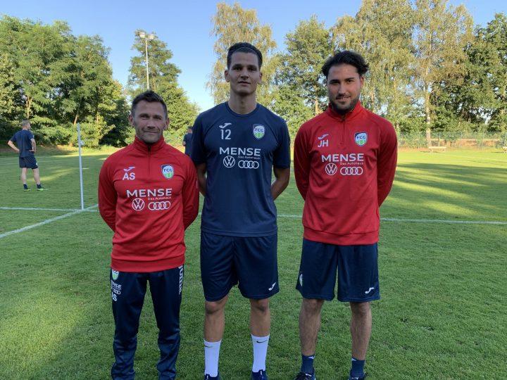 Der FC Gütersloh verpflichtet Stürmer Dimitrios Nemtsis vom SC Herford