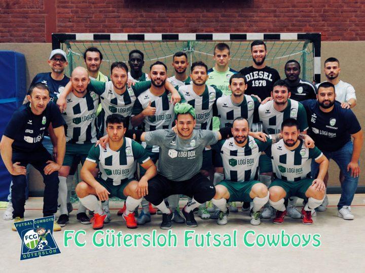 Die FCG Futsal Cowboys sind mit 7:5 siegreich gegen FSP Turbo Minden