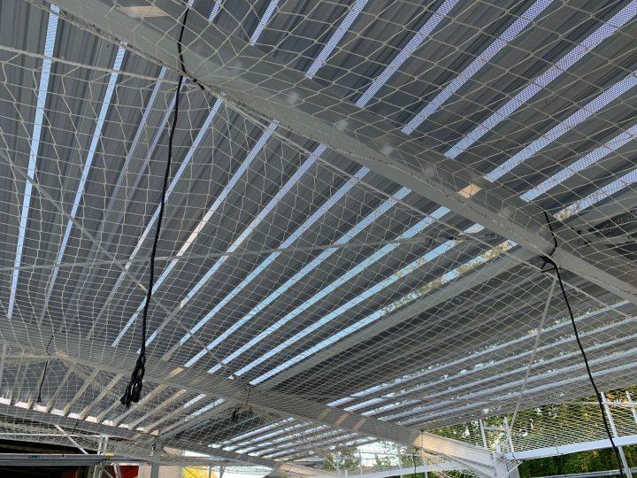 Baustelle im Stadion: Pähler steigt dem FCG aufs Dach