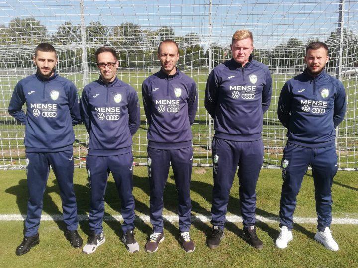 FCG III stellt sich neu auf: Vier Spieler unterstützen Trainer Federico Crisafulli