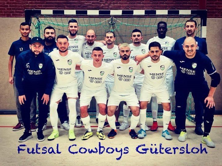 FC Gütersloh Futsal Cowboys sind zurück in der Spur