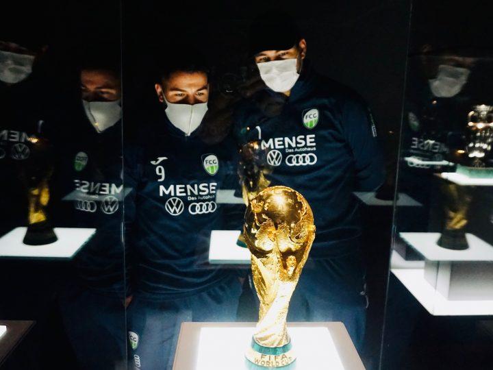 FCG Futsal Cowboys besuchen das Deutsche Fußballmuseum in Dortmund