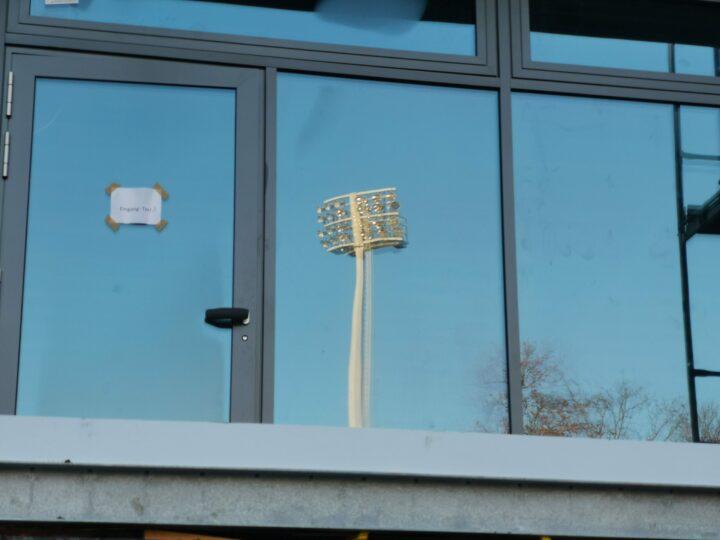 Neue Baustellen-Fotos aus dem Ohlendorf Stadion im Heidewald