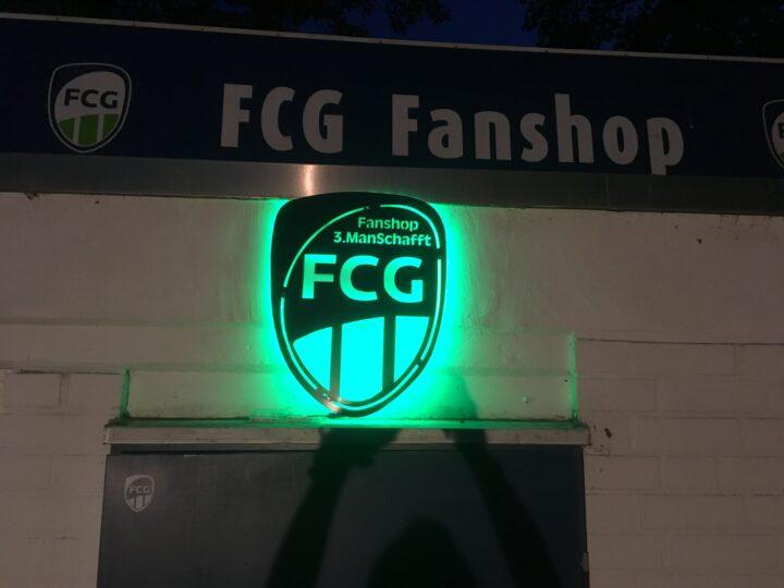 Online einkaufen: FCG-Fanshop im Internet eröffnet