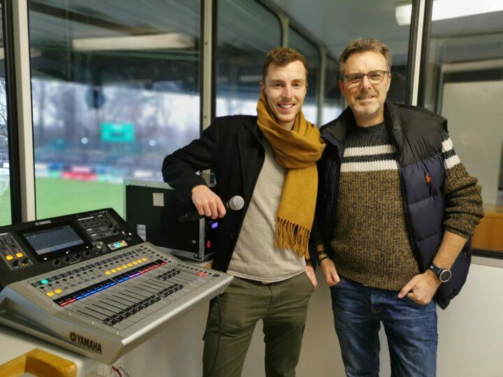 Neue Lautsprecher-Anlage im Ohlendorf Stadion im Heidewald