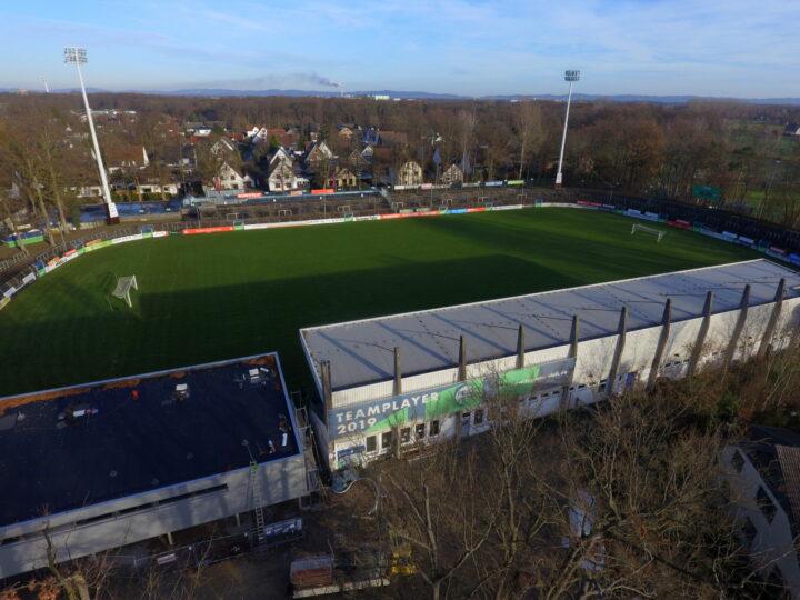 Sportclub Verl und FCG sprechen über 3. Liga im Ohlendorf Stadion