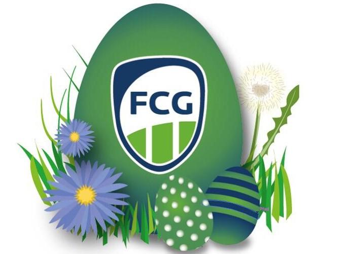 Der Osterhase kommt zur FCG-Jugend ins Sportzentrum Süd