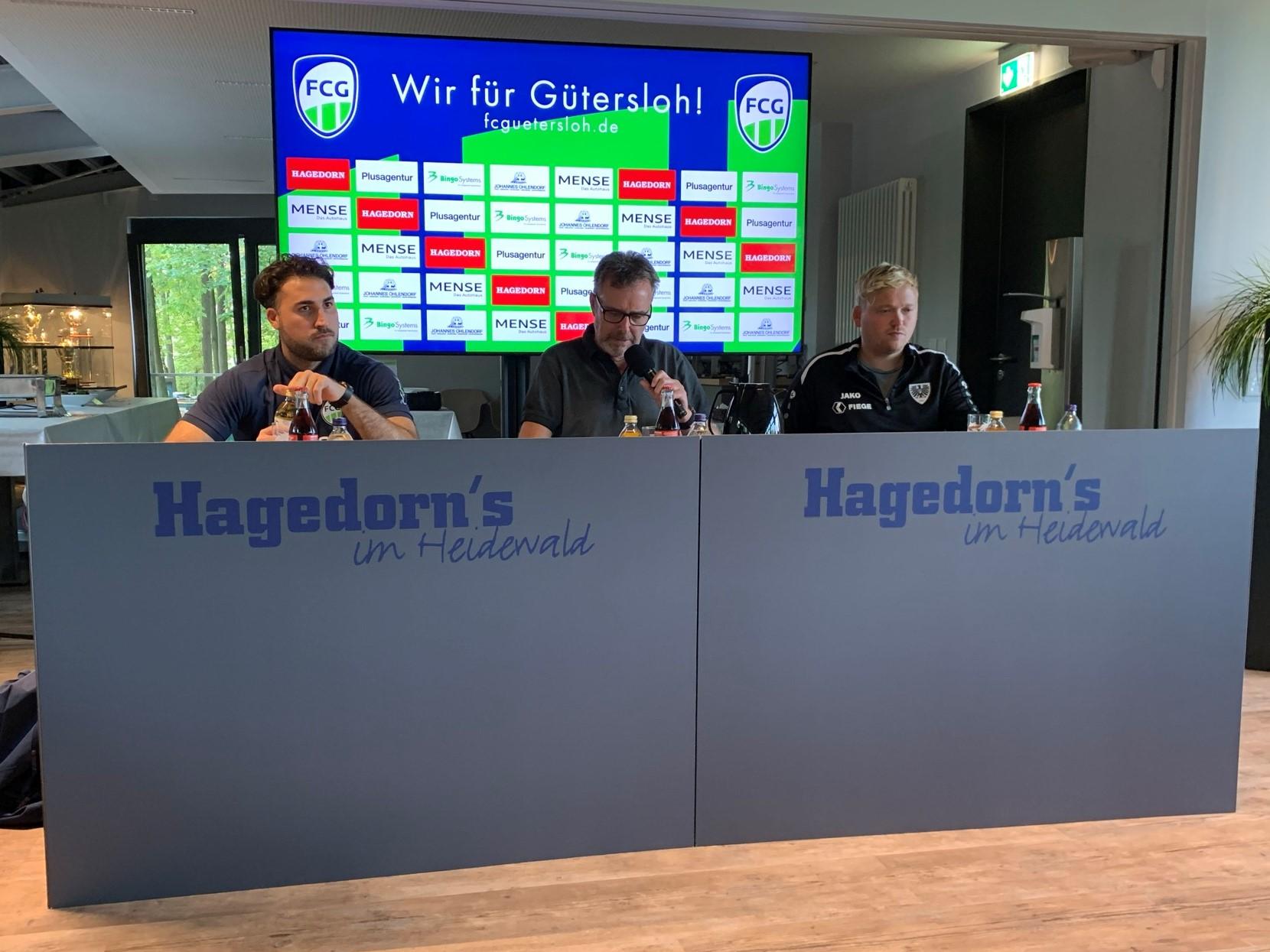 Die Pressekonferenz nach dem Münster Heimspiel des FCG im Video ...